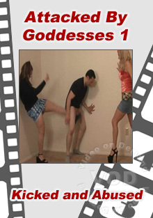 Attacked By Goddesses 1 Box Cover