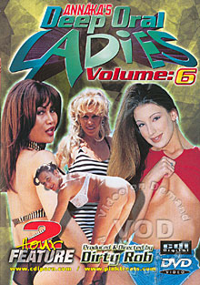 Annaka's Deep Oral Ladies Volume 6 Box Cover