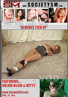 Blondes Tied Up:  Featuring Goldie Blair & Betty Box Cover