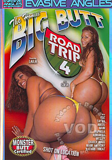 The Homies' Big Butt Road Trip 4 Box Cover