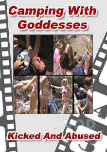 Camping With Goddesses Box Cover