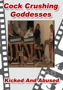 Cock Crushing Goddesses Box Cover
