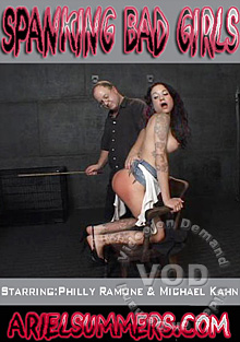 Spanking Bad Girls Box Cover