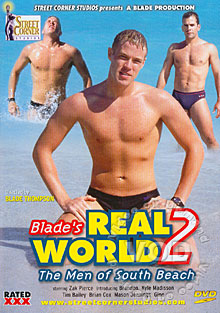 Blade's Real World 2 - The Men of South Beach Box Cover