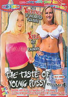 The Taste of Young Pussy Volume 4 Box Cover