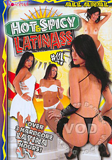 Hot & Spicy Latin Ass #4 Box Cover