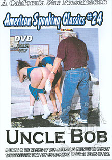 American Spanking Classics #24 - Uncle Bob Box Cover