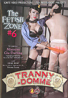 The Fetish Zone #6: Tranny-Domme Box Cover