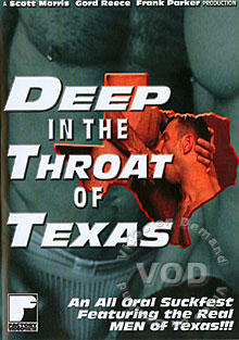 Deep In The Throat Of Texas Box Cover