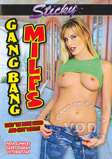 Gang Bang MILFs Box Cover