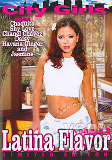 Latina Flavor Volume 3 Box Cover