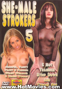 She-Male Strokers 5 Box Cover