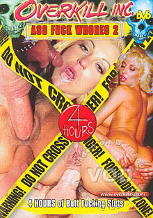 Ass Fuck Whores 2 Box Cover