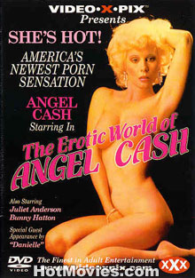 The Erotic World Of Angel Cash Box Cover