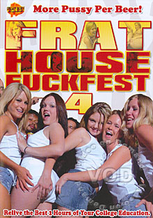 Frat House Fuckfest 4 Box Cover