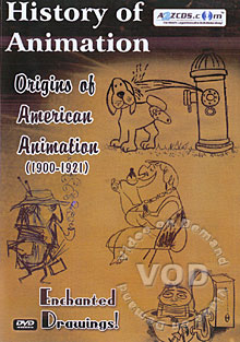 History of Animation - Origins of American Animation 1900 - 1921