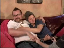Couch Surfers - Trans Men In Action Clip 1 00:04:40