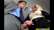 Big Tits on the Clock: The Blonde Boss Edition Gallery