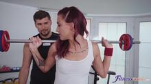Sexy Redhead Meets Old Flame In Gym Clip 1 00:01:40