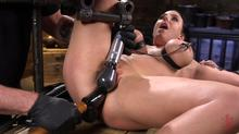 Device Bondage - Angela White Begs To Suffer For Her Master In Metal Bondage Clip 1 00:25:00