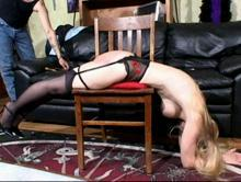 Credit Card Caning Clip 3 00:25:40
