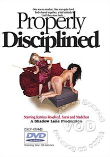 Properly Disciplined