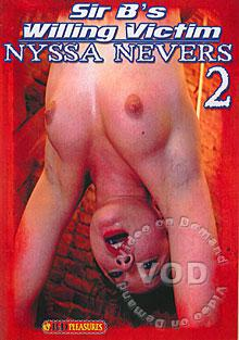 Sir B's Willing Victim Nyssa Nevers 2 Box Cover