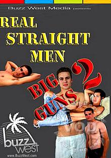Real Straight Men - Big Guns 2 Box Cover