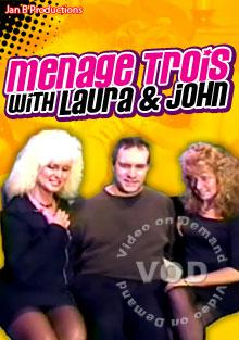 Menage Trois With Laura & John Box Cover