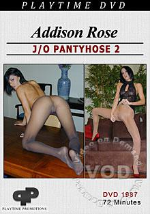 Addison Rose - J/O Pantyhose 2 Box Cover