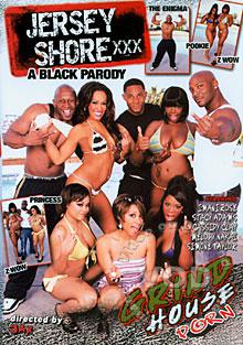 Jersey Shore XXX: A Black Parody Box Cover