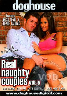 Real Naughty Couples Vol. 5 Box Cover
