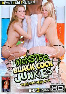 Monster Black Cock Junkies Box Cover