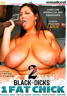 2 Black Dicks 1 Fat Chick Box Cover
