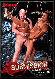 Sex And Submission 28 - Sexy Submissive Marie Luv Is Bound And Fucked - Featuring Mark Davis and Marie Luv Box Cover