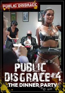 Public Disgrace #4 -The Dinner Party Box Cover