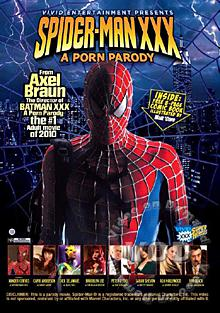 Spider-Man XXX - A Porn Parody Box Cover