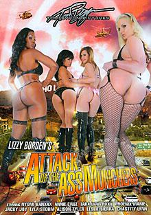 Lizzy Borden's Attack Of The Ass Munchers Box Cover