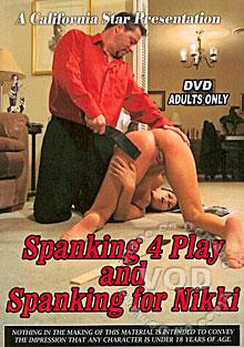 Spanking 4 Play And Spanking For Nikki Box Cover