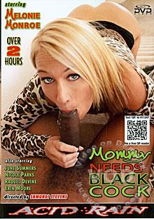 Mommy Needs Black Cock Box Cover