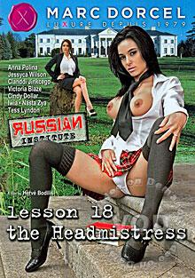 Russian Institute Lesson 18 - The Headmistress (French) Box Cover
