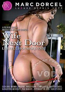 Wife Next Door - Lustful Housewives 3 (English Language) Box Cover