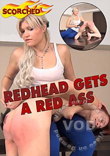 Redhead Gets A Red Ass