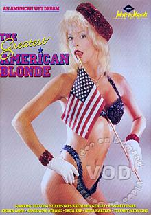 The Greatest American Blonde Box Cover