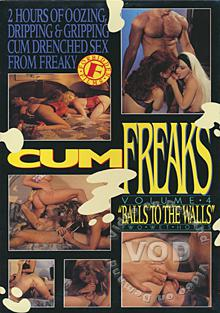 Cum Freaks Volume 4 - Balls To The Walls Box Cover