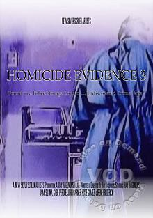 Homicide Evidence 3 Box Cover