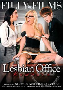 Lesbian Office Romance Box Cover