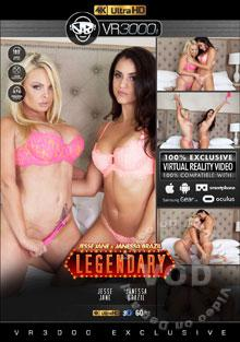 Jesse Jane & Janessa Brazil - Legendary Box Cover