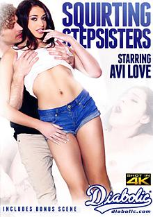 Squirting Stepsisters Box Cover