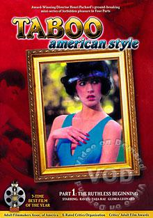 Taboo American Style Part 1 - The Ruthless Beginning Box Cover